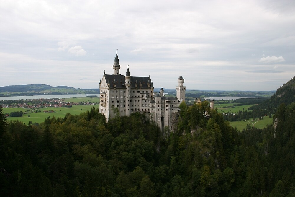 neuschwanstein castle by danny-webs