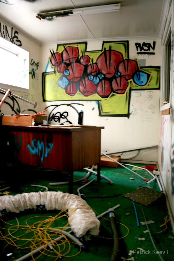 Abandoned Office by Patrick Keevil