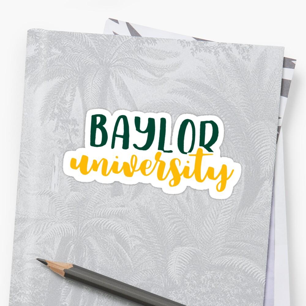 Baylor University by Pop 25