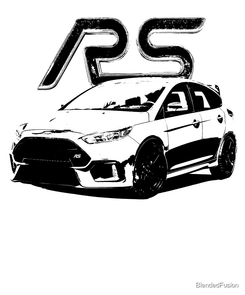 Focus RS - Wear your Passion by BlendedFusion