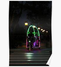 Night Ride, Glow in the Dark  Poster