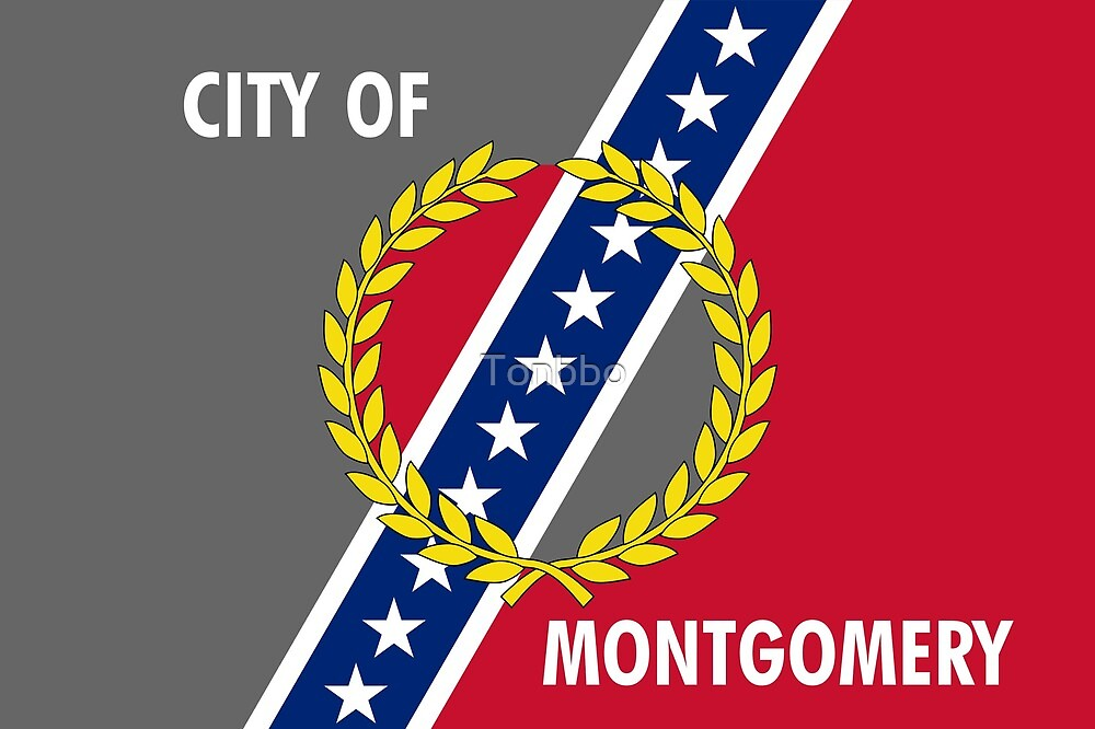 Flag of Montgomery, Alabama by Tonbbo