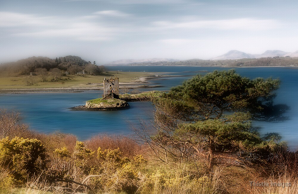 Castle Stalker by Thistle Images