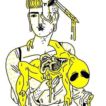Dead Alien Baby by philipdearest