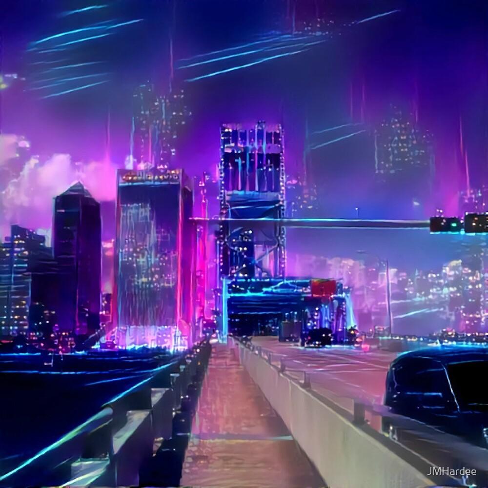 RetroSynthCity 1 by JMHardee