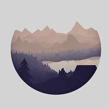 Simple Mountain by Redphones