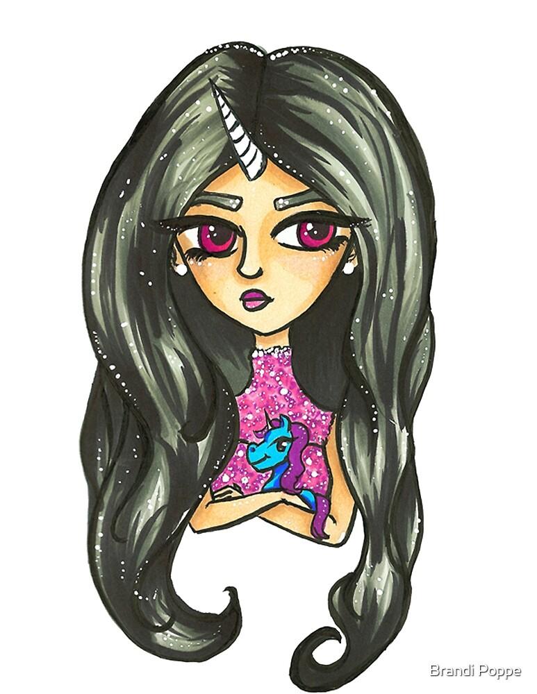 Unicorn Girl #2 by Brandi Poppe
