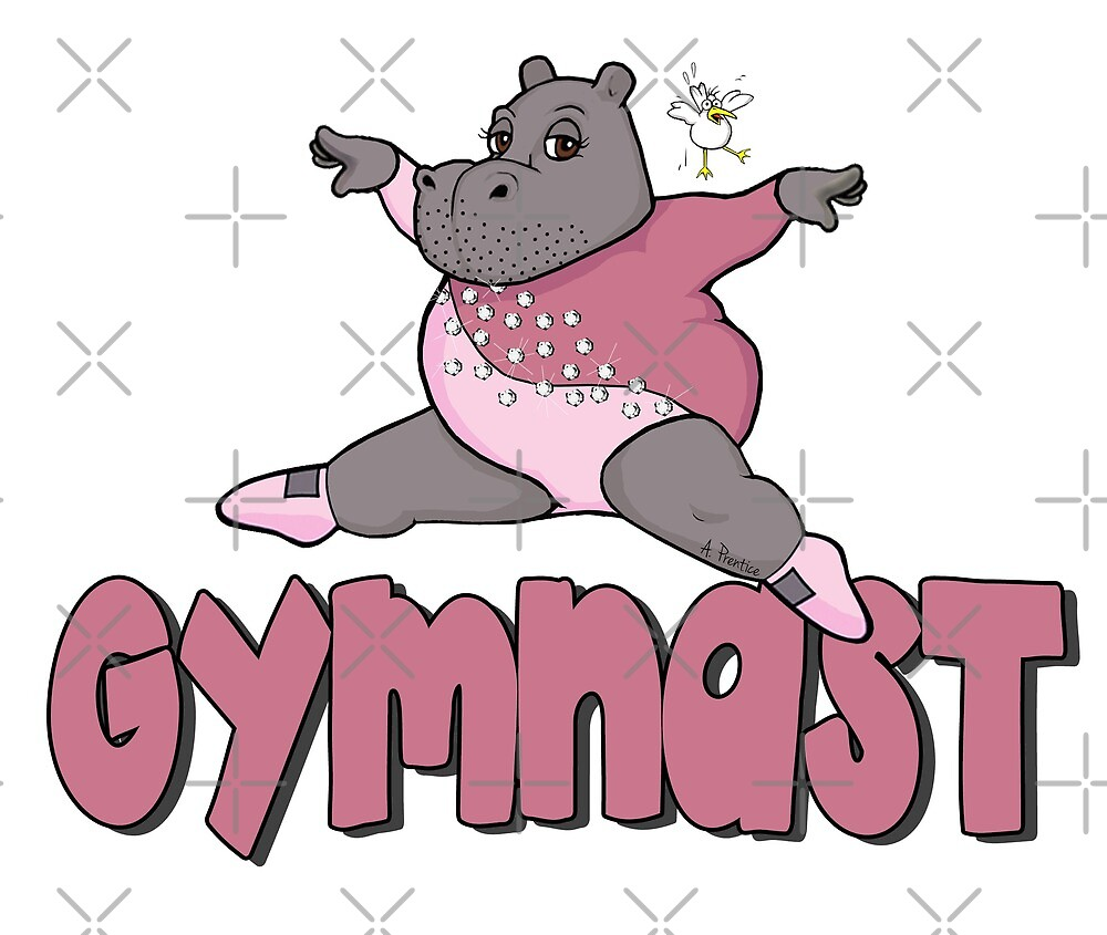 Hippo Gymnast by Hippogal