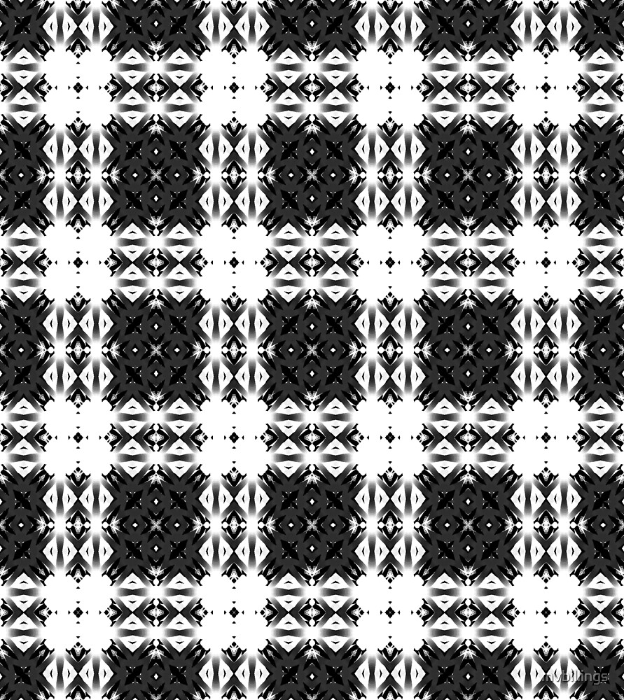 Simply Gray Plaid Design by mvbillings