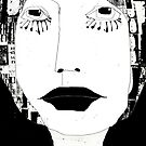« portrait en noir et blanc » by linda vachon