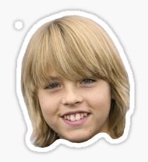 Cole Sprouse Floating Head Sticker