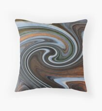Nature's Illusions- Winterwood Throw Pillow
