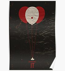 """Vintage Movie Poster Inspired by Stephen King's """"IT"""" Poster"""
