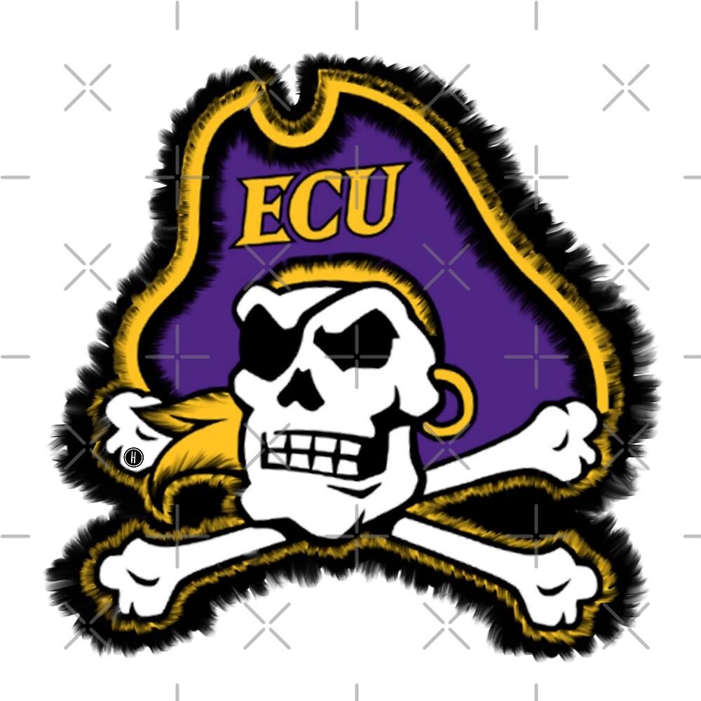 ECU Pirates by Halei Agra