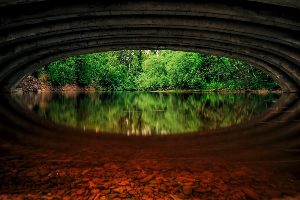 Eye Of The River by Glenn Blaszkiewicz