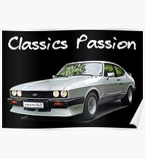 Classics Passion 013 Ford Capri Poster