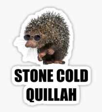 Stone Cold Pun HD Print Sticker