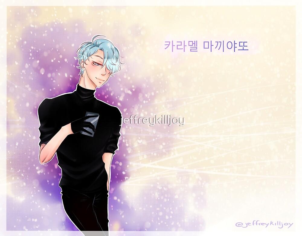 V Mystic Messenger by jeffreykilljoy