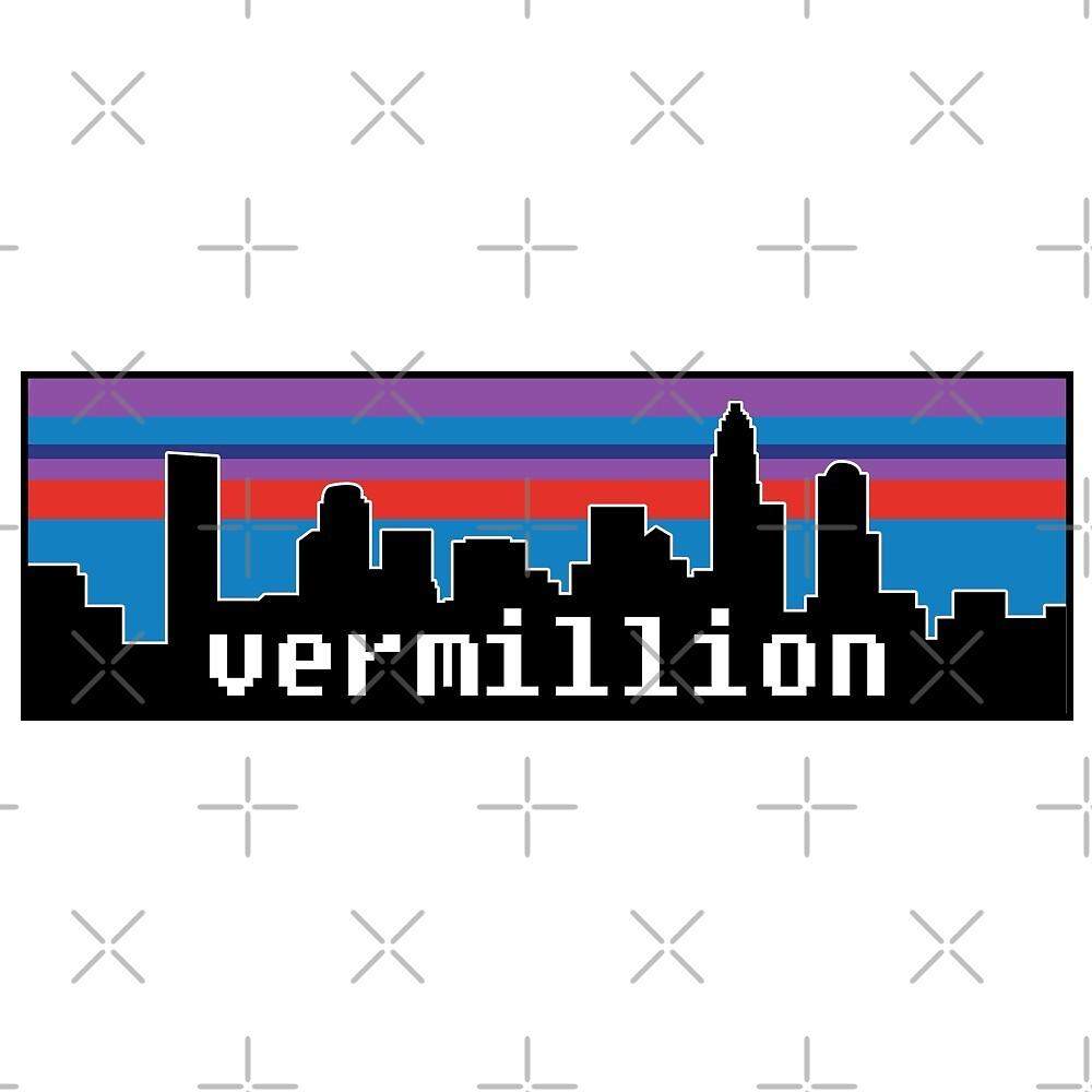 Vermillion 90s Logo by JacksDesign