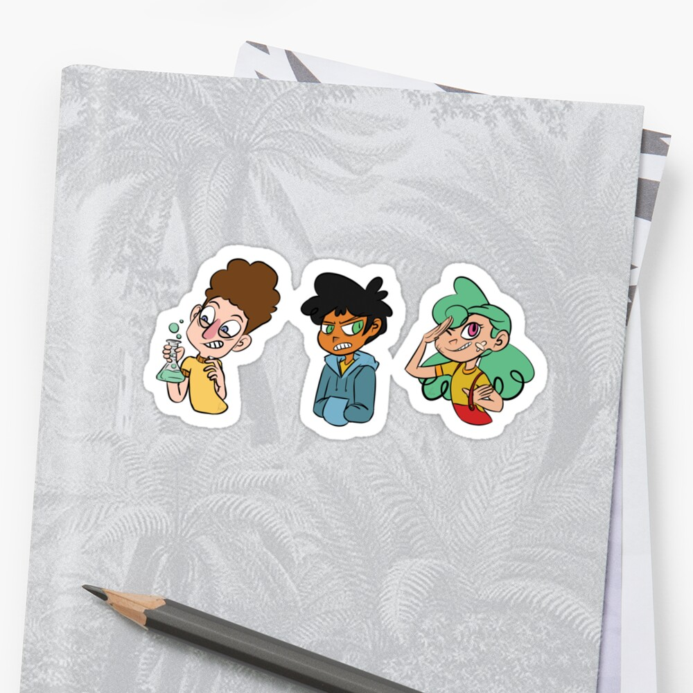 Camp Camp Trio set by holyissovain