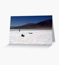 Atacama Desert, Chile Greeting Card