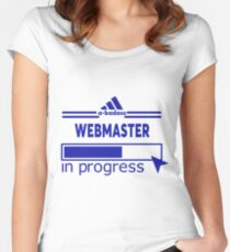 WEBMASTER Women's Fitted Scoop T-Shirt