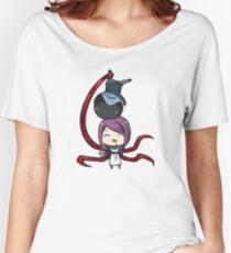Rize and Kaneki Ken Tokyo Ghoul Women's Relaxed Fit T-Shirt