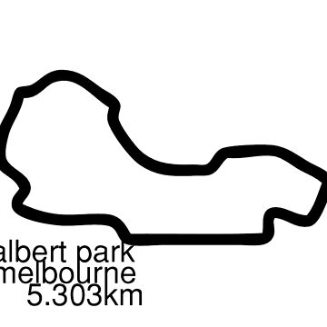 Albert Park Track by JackxD