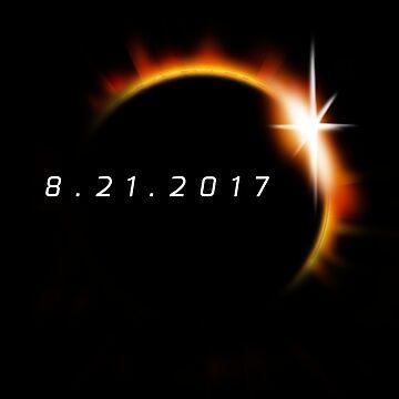 Total Solar Eclipse 21 de agosto de 2017 de vomaria