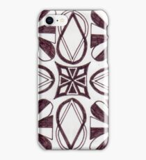 Mixed Emotions iPhone Case/Skin