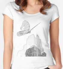 Reign of the Monarch Women's Fitted Scoop T-Shirt