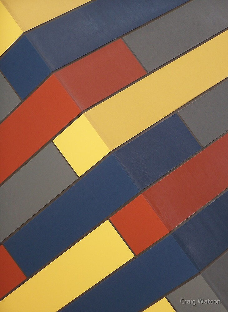 Red, Yellow, Blue and Grey by Craig Watson