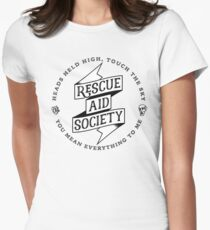 Rescue Aid Society Women's Fitted T-Shirt