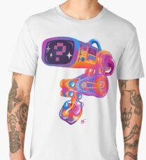 Dave's Heart Monitor - InstaChrome Men's Premium T-Shirt