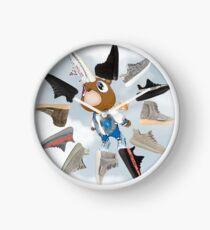 "Yeezy Graduation Clock v. ""Sky"" Clock"