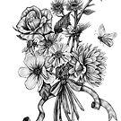 Pollinators 2 by Rachelle Dyer