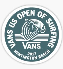 Vans US Open (blue) Sticker