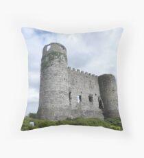 Carlow castle Throw Pillow