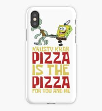 Krusty Krab Pizza - Spongebob iPhone Case/Skin