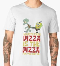 Krusty Krab Pizza - Spongebob Men's Premium T-Shirt