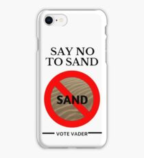 VOTE VADER iPhone Case/Skin