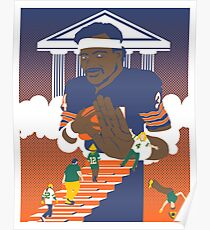 Sweetness Says No -- Packer Fans Stiff-Armed From Heaven Poster