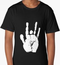 jerry garcia hand  Long T-Shirt