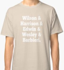 Porcupine Tree Line up Classic T-Shirt