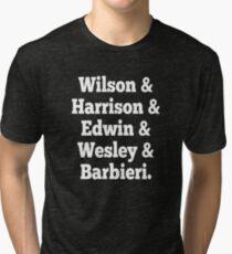 Porcupine Tree Line up Tri-blend T-Shirt