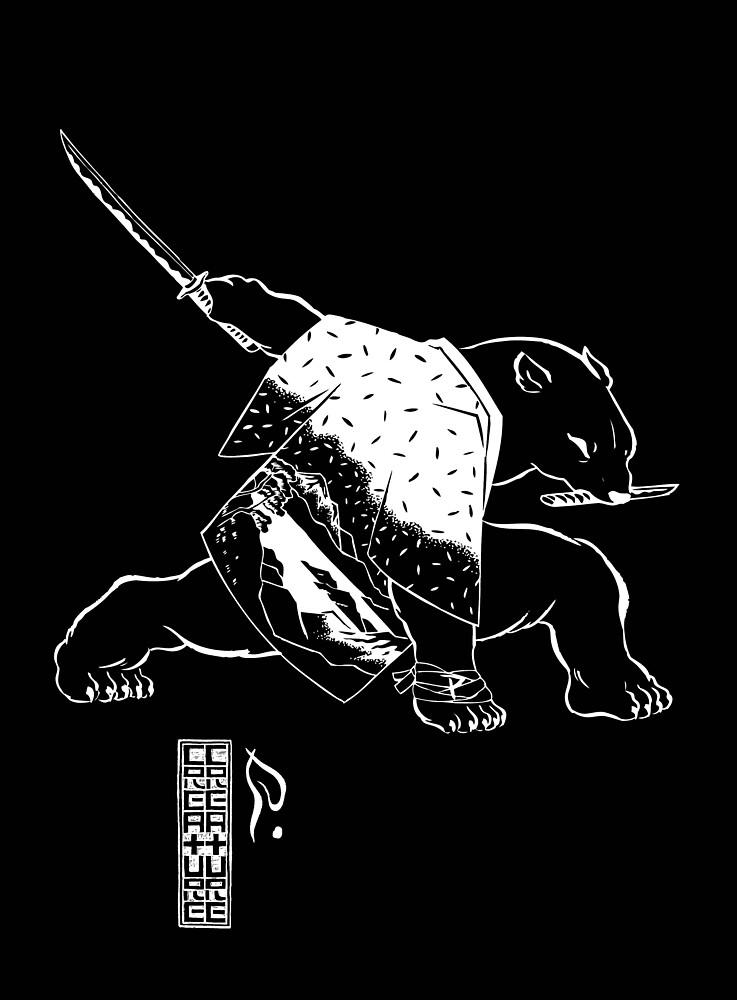 Polar Bear Black by 2xCreature