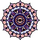 Mandala Blueberry by ReeDraws