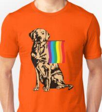Gay Pride Labrador Shirt T-Shirt
