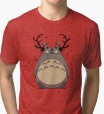 Totoro True Detective Tri-blend T-Shirt
