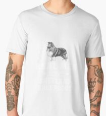 Real Men Love Shetland Sheepdogs Men's Premium T-Shirt
